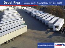 Ticaret alanı Schmitz Cargobull Latvija SIA