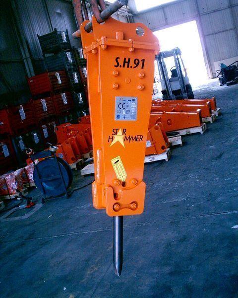 yeni STAR Hammer SH 91 hidrolik kırıcı