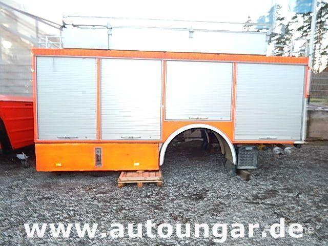 MERCEDES-BENZ Schlingmann Feuerwehr Aufbau m Rosenbauer Pumpe 24/8 kapalı kasa