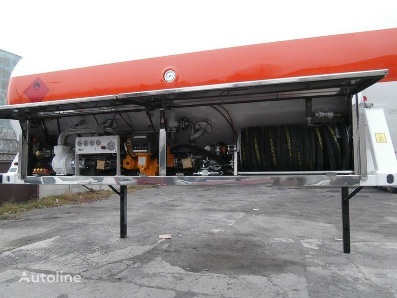 LDS smennoe shassi gaz tankeri