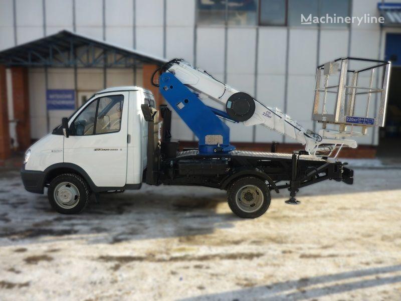 GAZ VIPO-12t na baze GAZEL araç üstü eklemli