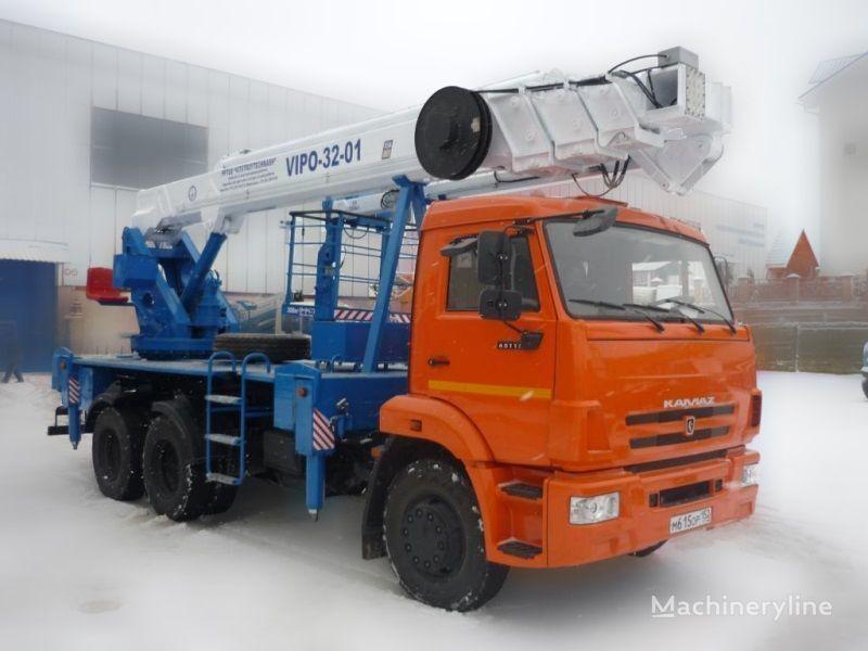 KAMAZ VIPO-32  araç üstü eklemli