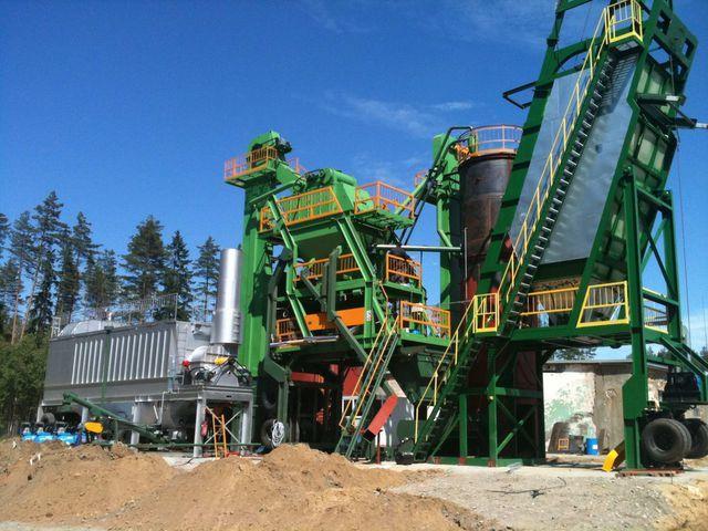 yeni DMI DMAP MB 1300 asfalt fabrikası