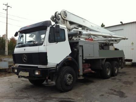 MERCEDES-BENZ 2629 beton pompası