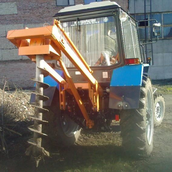 Yamokopatel (yamobur) navesnoy marki BAM 1,3 na baze traktora MTZ diğer