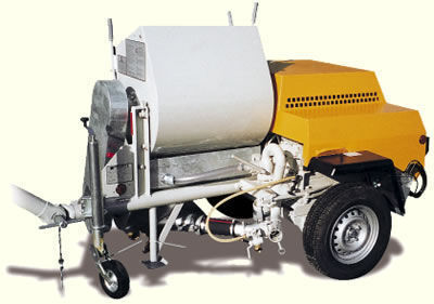 yeni PUTZMEISTER P 13 hazır sıva makinesi