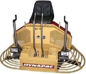 yeni DYNAPAC BG70 perdah makinaları
