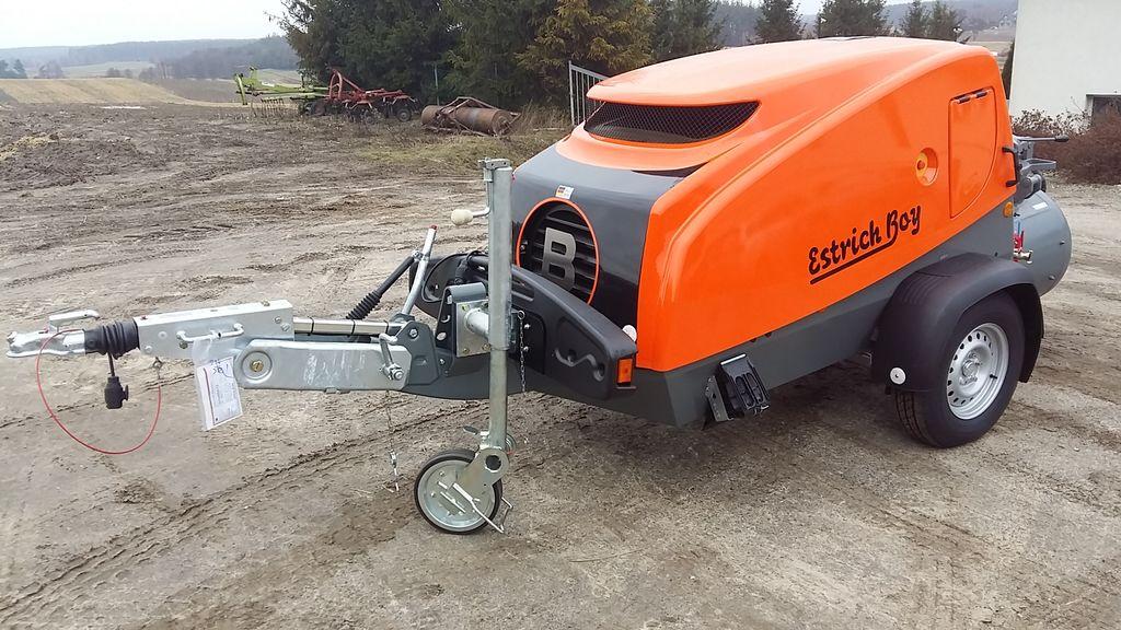 yeni BRINKMANN EB 450  PROMOCJA  sabit beton pompası