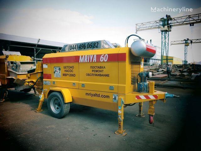 yeni MRIYA MBP 1206D sabit beton pompası