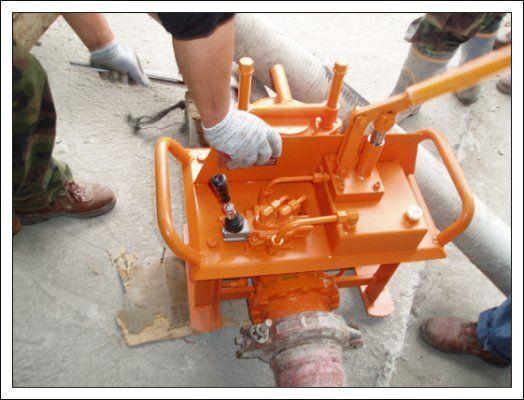 yeni Gidravlicheskie zadvizhki betonovoda (Yuzhnaya Koreya) sabit beton pompası