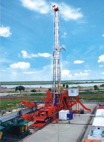 yeni ZYT Petroleum ZJ40 sondaj kulesi