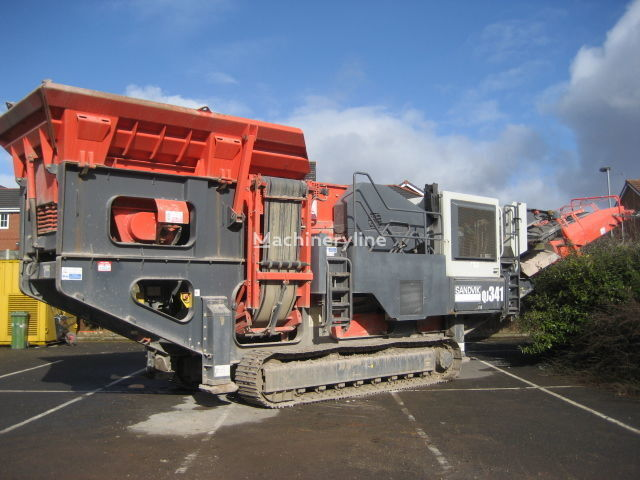SANDVIK QJ341 taş kırma makinesi