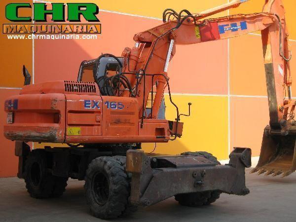 FIAT-HITACHI EX165W.3 tekerlekli ekskavatör