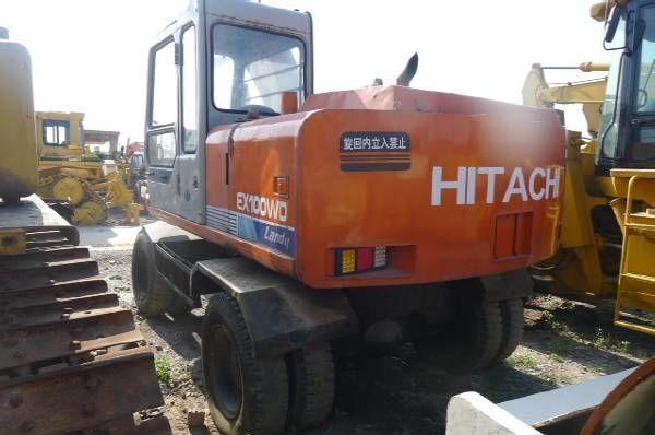 HITACHI EX100WD tekerlekli ekskavatör