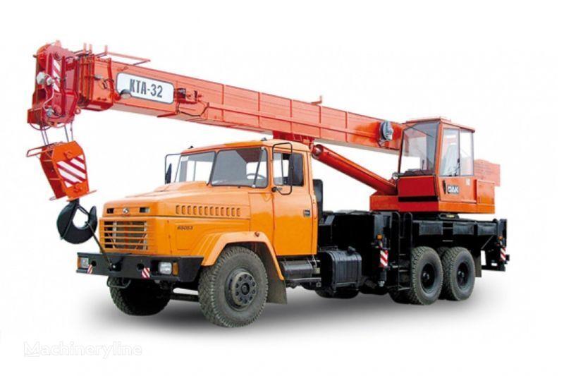 KRAZ 65053 (KTA-32)  vinçli kamyon
