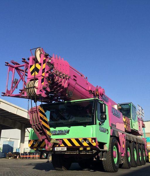 LIEBHERR 100 Ton Crane LTM 1100 - 5.2  (SOLD) vinçli kamyon