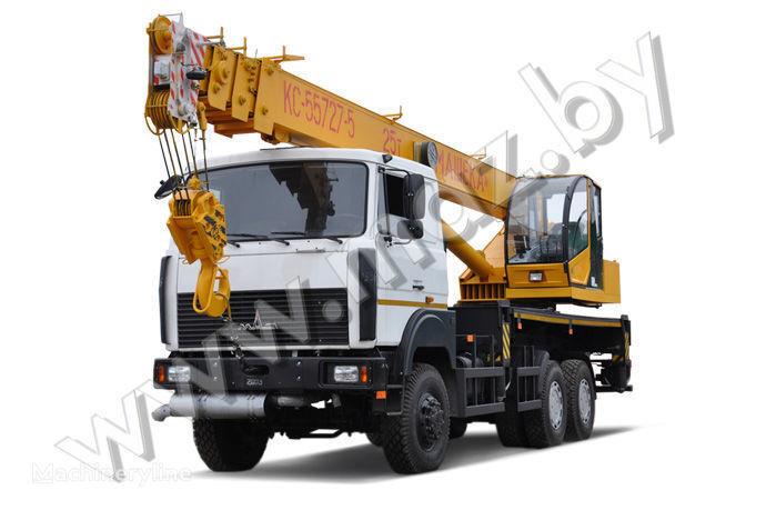 MAZ KS-55727-5-11, 12, 21, 22 vinçli kamyon