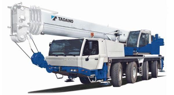 TADANO Faun ATF65G-4 vinçli kamyon