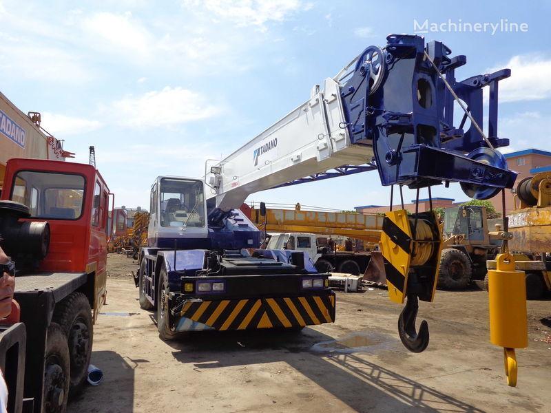 TADANO TR250M(rough terrain crane) vinçli kamyon