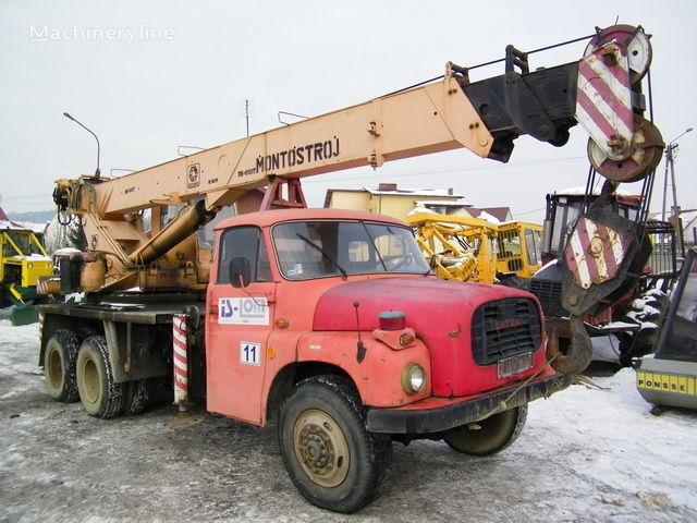 TATRA T 148 Samojezdny şaside BUMAR GŁOGÓW vinçli kamyon