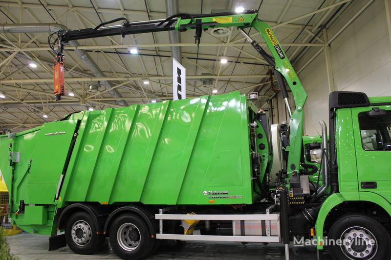 yeni FAUN POWERPRESS 520 çöp arabası