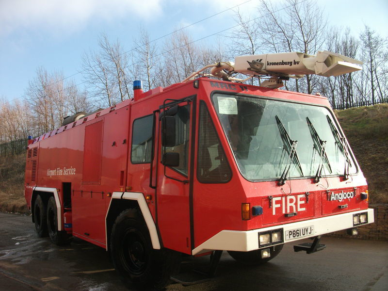 ## FOR HIRE # ANGLOCO AIRPORT FIRE FIGHTING VEHICLE / KRONENBURG itfaiye aracı