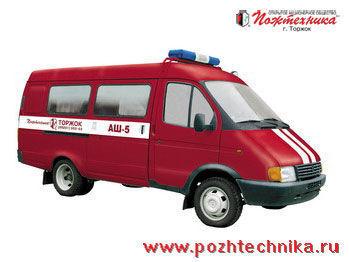 GAZ ASh-5 Avtomobil shtabnoy itfaiye aracı