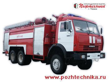 KAMAZ APT-9-40 Avtomobil pennogo tusheniya pozharnyy     itfaiye aracı