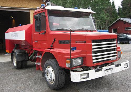 SCANIA T-112H itfaiye aracı