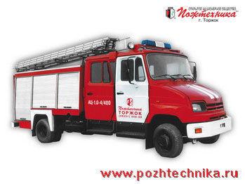 ZIL AC-1,0-4/400 itfaiye aracı