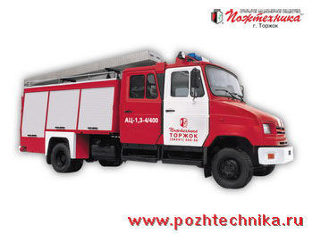 ZIL  AC-1,3-4/400 itfaiye aracı