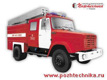 ZIL ANR-40-1400 Avtomobil nasosno-rukavnyy   itfaiye aracı