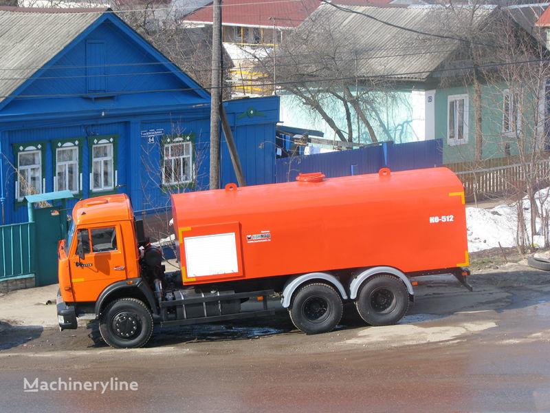 KAMAZ Kanalopromyvochnaya mashina KO-512 kanal temizleme aracı