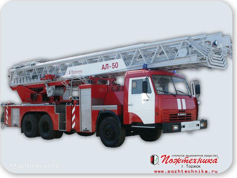 KAMAZ AL-50 merdivenli itfaiye arabası