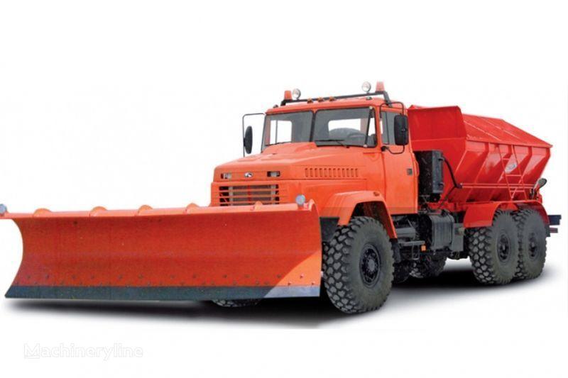 KRAZ 6322 MDKZ-30 Kombinirovannaya dorozhnaya mashina  temizleme makinesi