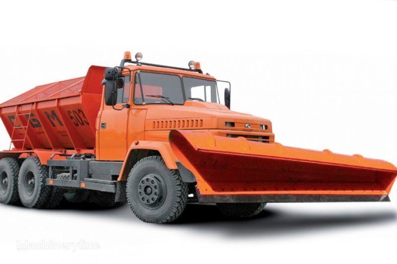 KRAZ 65055 MDKZ-30 tuzlama kamyonu
