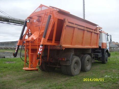 yeni MAZ tuzlama kamyonu