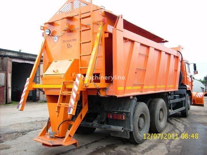 MAZ MKDS 3 tuzlama kamyonu