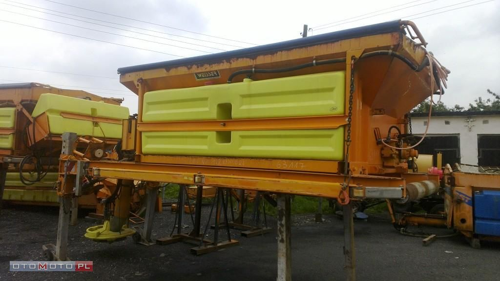 Piaskarko solarka KUPPER WEISSER 5m3 tuzlama kamyonu