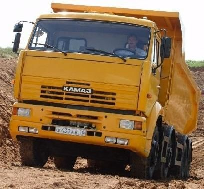 yeni KAMAZ 65201 damperli kamyon