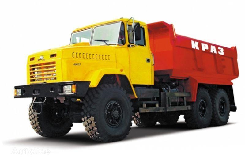 KRAZ 65032 tip 4  damperli kamyon