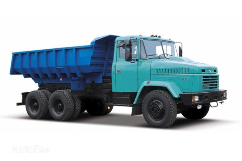 KRAZ 6510 tip 2 damperli kamyon