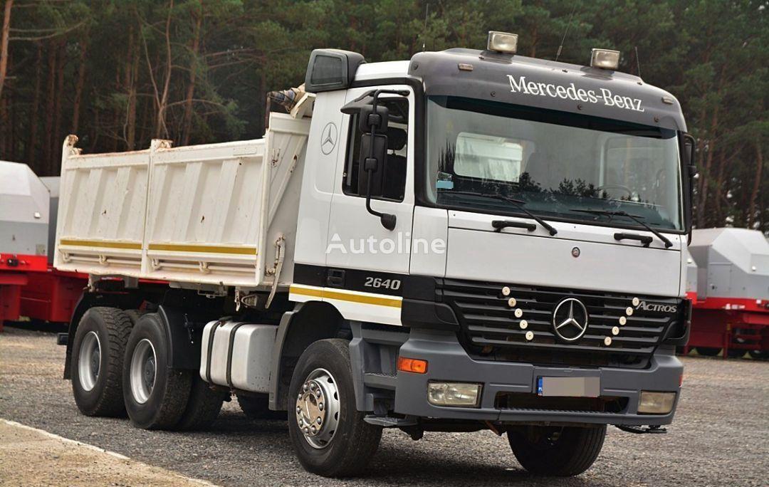 MERCEDES-BENZ ACTROS 2640  damperli kamyon