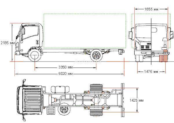 Satılık ISUZU NMR-85L frigorifik kamyonlar, Ukrayna'dan ...