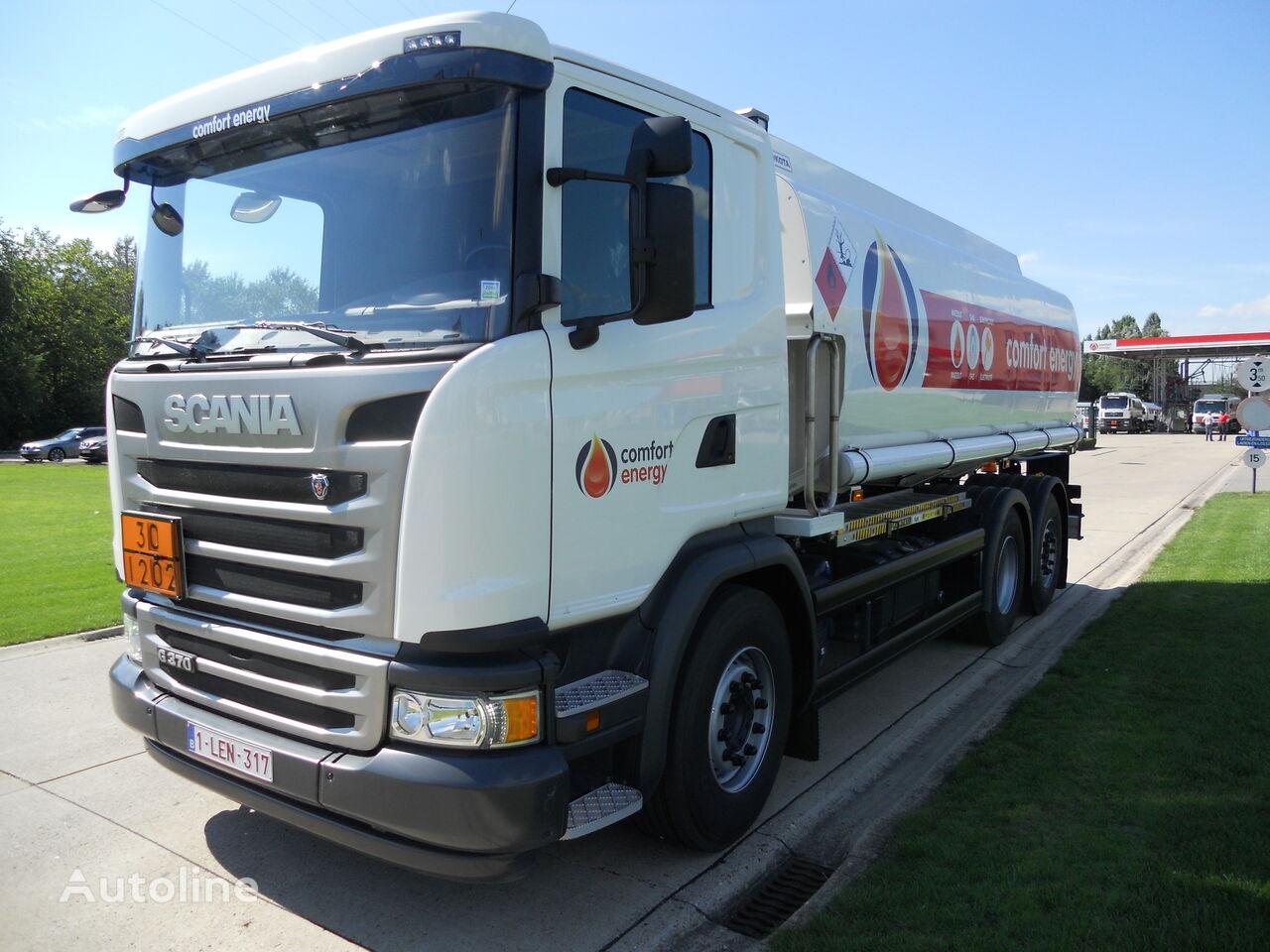 SCANIA kamyon benzin tankeri