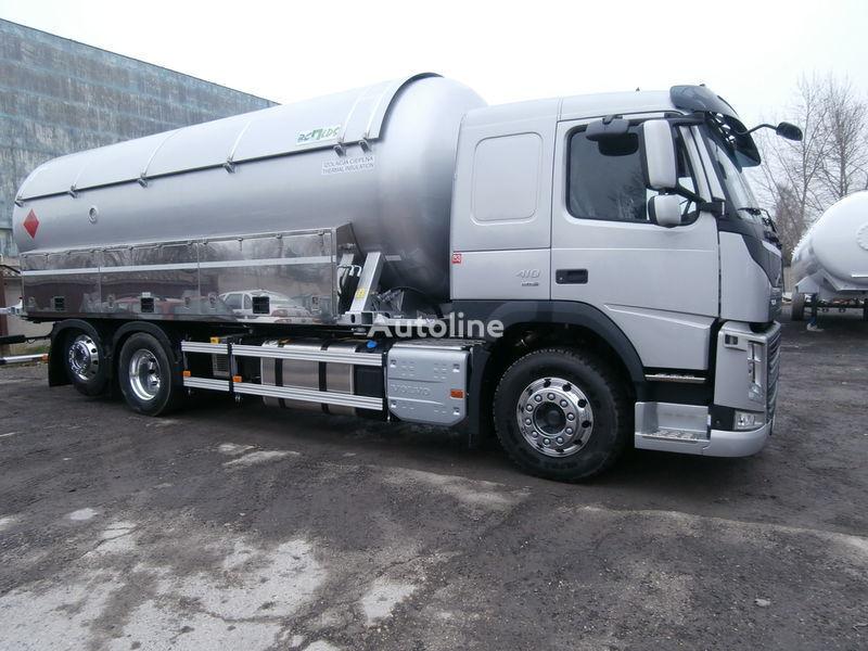 VOLVO kamyon gaz taşıyıcı + römork