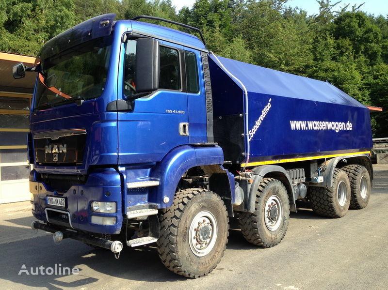 MAN TGS 41.480  tanker kamyon