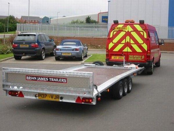 BRIAN James Trailers TT-T-303 römork araba taşıyıcı