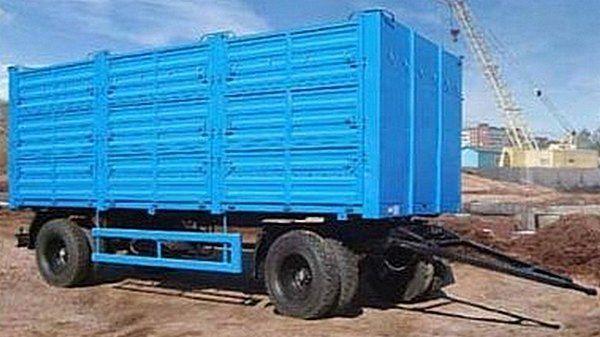 yeni KAMAZ SZAP-8357-02/030 römork kasa dorse