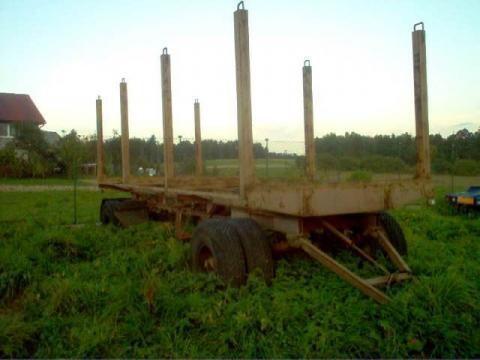 römork kereste kamyonu